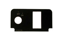 EZGO Electric 2000-Up TXT Label for Console Plate without Lights