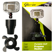 """Cart-Gear"" Cup Holder Propane Heater - Universal"