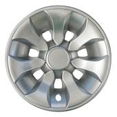 """8"""" RHOX Silver Driver Golf Cart Wheel Cover"""