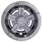"8"" RHOX Chrome Vegas Style Golf Cart Wheel Cover"