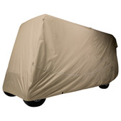 "Universal Golf Cart Storage Cover for 6 Passenger Cart - 119"" Tops"