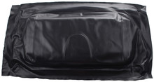 Club Car Precedent Front Seat Cover - Black Seat Bottom