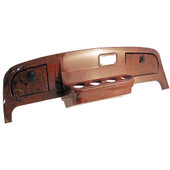 EZGO TXT Custom Dash Wood Grain