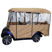 "Universal Deluxe 4-Sided Golf Cart Enclosure (88"" TOP)"