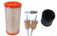 Deluxe Club Car Precedent Tune Up Kit with Oil Filter and Belts