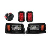 Yamaha G14, G16, G19, G22 Headlight and Tail Light Kit - Adjustable