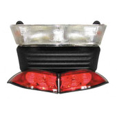Club Car Precedent Light Bar Bumper Kit 2004 and Up - Gas and Electric (12 or 8 Volt)