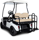 Madjax Genesis 150 Club Car Rear Flip Seat - Choose Your Cart Model and Color