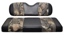 Madjax Wave Black and Camo Front Seat Cover - Golf Cart Model Specific