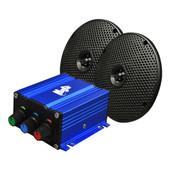Universal Madjax Bluetooth Mini Amp Kit with Speakers
