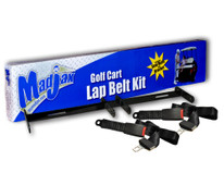 Madjax Universal Golf Cart Lap Belt Combo Kit