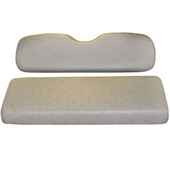Madjax Sandstone Rear Flip Seat Cushion Set - EZGO RXV Golf Cart