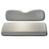 Madjax Grey Rear Flip Seat Cushion Set - Yamaha G29 Drive Golf Cart