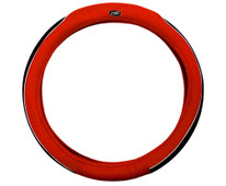 Madjax Red and Black Golf Cart Steering Wheel Cover