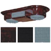 Universal Overhead Radio Console Woodgrain