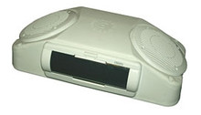 Roof Mount Console with Inverted Stereo White