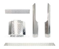 EZGO RXV Diamond Plate Full Accessory Kit 2008-2015