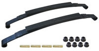Club Car DS Heavy Duty Dual Action Rear Leaf Spring Kit - 1982-Up