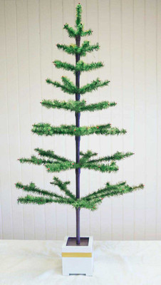 "54"" Large Traditional Tapered Feather Tree"