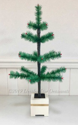 "24"" Petite Feather Tree Designed by Dresden Star"