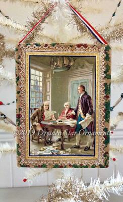 Reserved for Stacy – Drafting of the Declaration of the Independence Candy Box