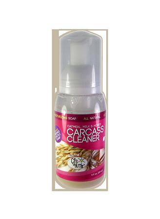 Carcass Cleaner: Oatmeal, Milk & Honey