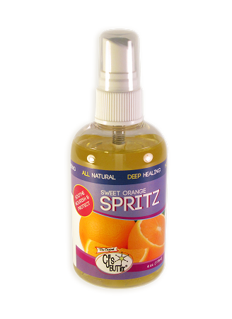 CJ's BUTTer Spritz: Sweet Orange