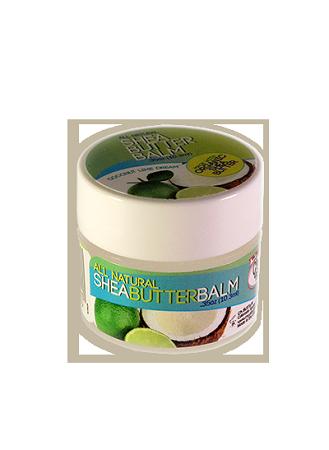 CJ's BUTTer Shea Butter Balm .35 oz. Mini: Coconut Lime Dream