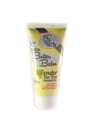 CJ's BUTTer Shea Butter Balm 6 oz. Tube: Lavender & Tea Tree