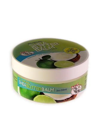 CJ's BUTTer Shea Butter Balm 2 oz. Jar: Coconut Lime Dream