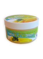 CJ's BUTTer Shea Butter Balm 6 oz. Pot: All Natural Mango, Sugar & Mint