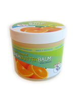 CJ's BUTTer Shea Butter Balm 12 oz. Tub: Sweet Orange