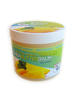 CJ's BUTTer Shea Butter Balm 12 oz. Tub: All Natural Mango, Sugar & Mint