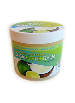 CJ's BUTTer Shea Butter Balm 12 oz. Tub: Coconut Lime Dream