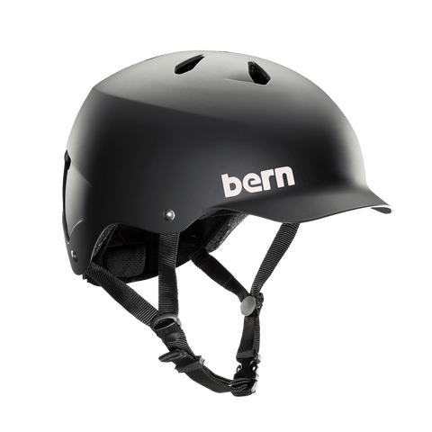 Bern | Summer Watts | Men's Helmet | 2019 | Black - Matte Black