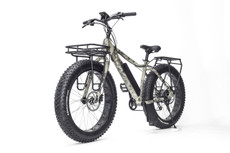 Surface 604 Electric | Boar Hunter Camo Fat Bike