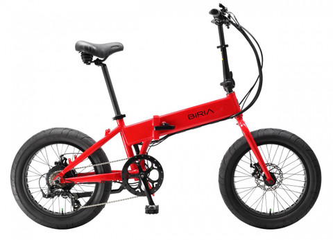 Biria Electric Bikes | Folding Bike | 2019 | Red