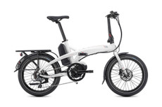 Tern Electric | Vektron D8 | Electric Folding Bike | 2019 | White/Red | 1