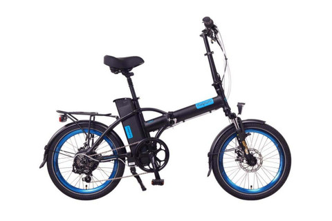 Magnum Electric | Classic High Step | Electric Folding Bike | 2020 | Black
