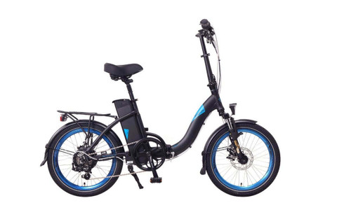 Magnum Electric | Classic Low Step | Electric Folding Bike | 2020 | Black