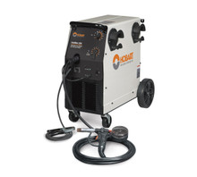 HOBART IronMan 230 MIG Wire Welder w/ DP-3545-20 Spool Gun