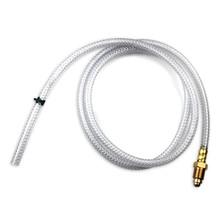 5' Shielding Gas Hose (Reinforced) w/ Fittings