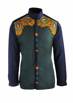 Kribi Pattern Shirt