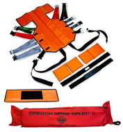 SKED Oregon Spine Splint II - orange