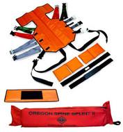 SKED Oregon Spine Splint II - orange