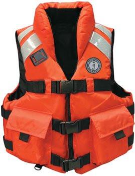 Iii Vest Oceanmedix Impact Mustang Pfd High Type Life Orange Sar qIxY6wO