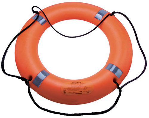 "Datrex DeckBuoy® 30"" Lifering - 42.5 KG USCG/SOLAS/MED/TC"