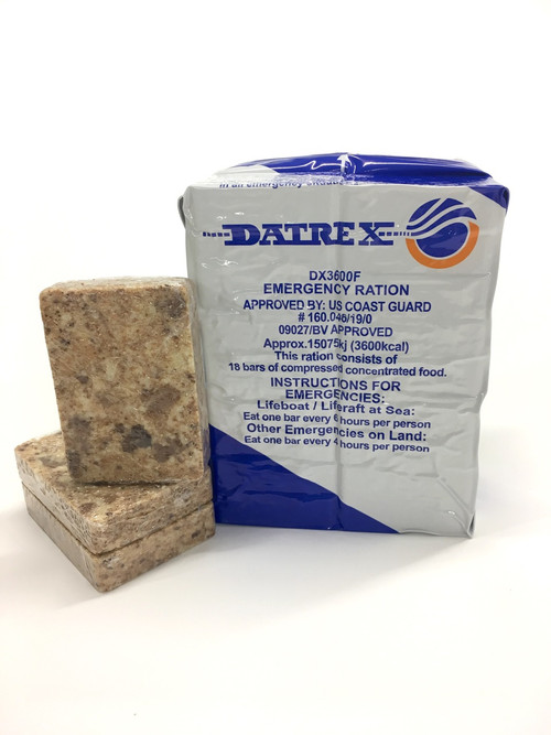 Datrex Emergency Ration - Blue Ration - 3,600 kcal - USCG/SOLAS