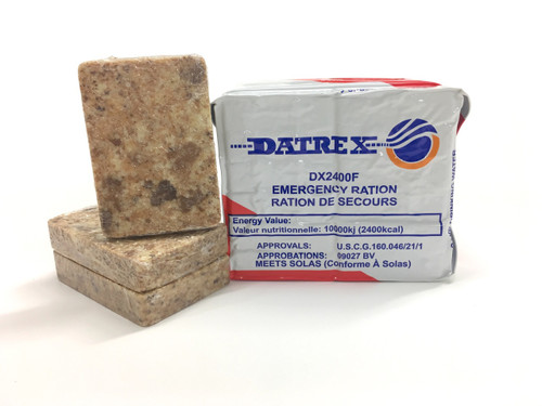 Datrex Emergency Ration - White Ration - 2,400 kcal - USCG / SOLAS