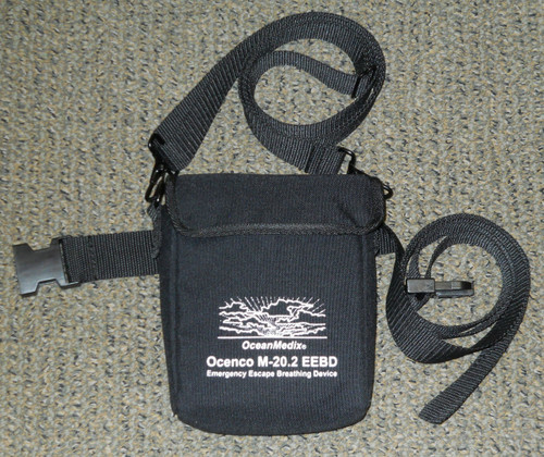 Utility Pouch for M-20.2 EEBD with belt and shoulder strap - front